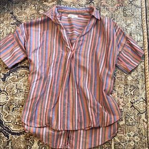 Madewell striped top